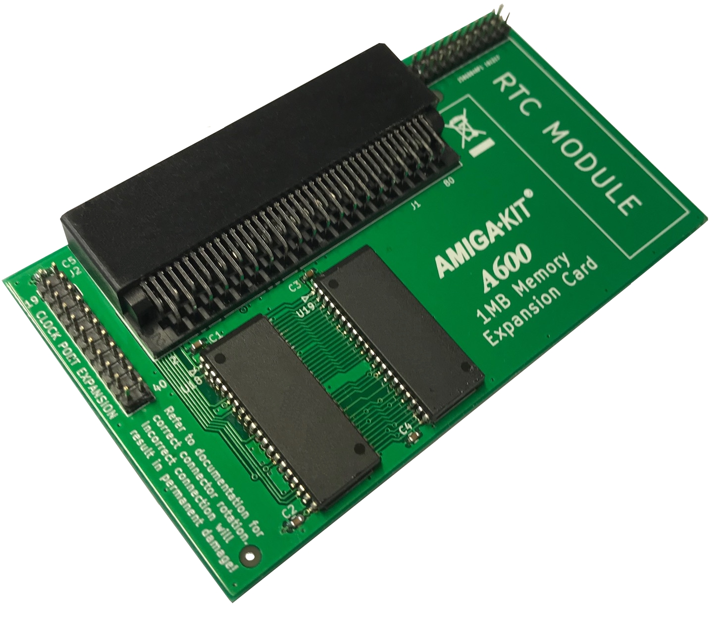 A600 1MB CHIP RAM MEMORY EXPANSION (AMIGA 600)