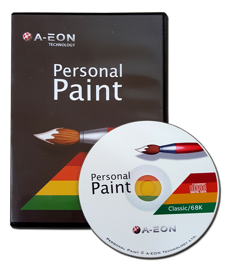 Personal Paint 7.3b OS3 Amiga CD (PPaint)