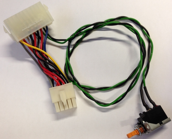 A3000 ATX PSU Power Adapter Cable for Amiga 3000