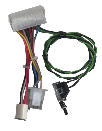 A4000 ATX PSU Power Adapter Cable for Amiga 4000