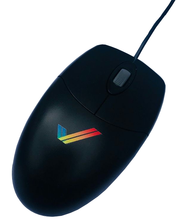 Optical Scroll Mouse USB PS2 (Black)